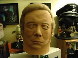 Halloween Mask William Shatners Face by Best Kept Secrets Horror Edition Playbuzz