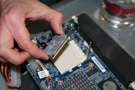 Memasang Processor
