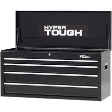 Hyper Tough 4-Drawer Tool Chest With Ball-Bearing Slides, 41