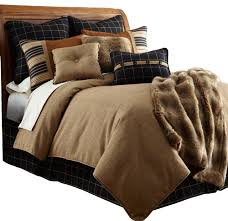 Rustic Comforter Sets With Cabin Bedding Luxury Rustic Style