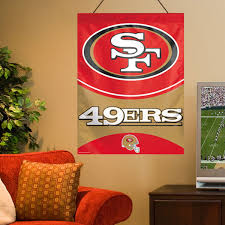 San Francisco 49ers Home Decor Office Supplies Niners Accents Furnishings