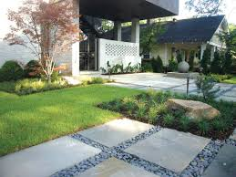 Modern Atlanta Landscape Design   Atlanta Home Improvement Garden With Tropical Plants And Stepping Stones Good Time To How Lay Howtos Diy Bystep Itructions For Making Modern Front Yard Designs Ideas Best Design On Pinterest Backyard Japanese Garden Narrow Yard Part 1 Of 4 Outdoor For Gallery Bedrock Landscape Llc Creative Landscaping Idea Small Stone Affordable Path Family Hdyman Walkways Pavers Backyard Stepping Stone Lkway Path Make Your