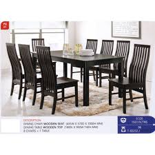 Kitchen Furniture Fully Solid Wood Dining Table Chair Set ... Kitchen Design Counter Height Ding Room Table Tall High Hightop Table With 4 Leather Chairs Top Hanover Monaco 7piece Alinum Outdoor Set Round Tiletop And Contoured Sling Swivel Chairs High Kitchen Set Replacement Scenic Top Wning Amazing For Sets Marble Square And Glass Small Pub Style Island Home Design Ideas Black Cocktail Low Tables Astonishing Rooms Modern Wood Dark 2