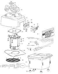 Parts Breakdown For Waring CB15 Blender