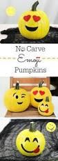 Devil Emoji Pumpkin Carving by Des Citrouilles Licornes Pour Halloween Trop Génial Et Super Chou