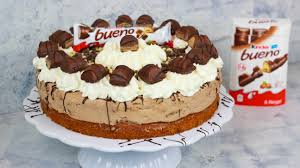 kinder bueno torte haselnuss torte cook bakery