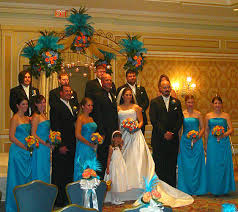 The Special Decoration Using Peacock Wedding Theme