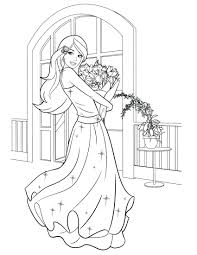Free Printable Barbie Coloring Pages More Christmas Carol Fairy Full Size