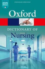 Oxford University Press Uk Exam Copy by A Dictionary Of Nursing Elizabeth A Martin Oxford University