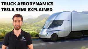 100 Aerodynamic Semi Truck Aerodynamics Tesla Explained