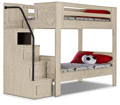 White Low Loft Bed With Desk by Twin Loft Bed With Desk And Storage Discovery World Furniture