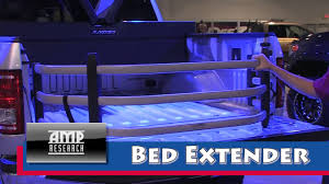 Amp Bed Extender by Amp Research Bed Extender Youtube