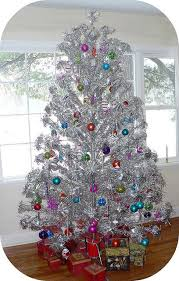 Christmas Past Remember The Aluminum Trees With Color Wheel Lighting