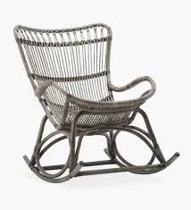 Rocking Chair Rattan Outdoor Christmas Covers Black And ...