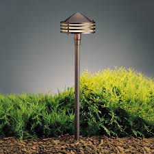 Kichler 15318AZT Textured Architectural Bronze 23 Inch Tall Outdoor Path Light Loading Zoom