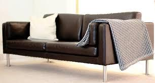 ikea brown leather sofa home decor ikea best ikea leather sofa