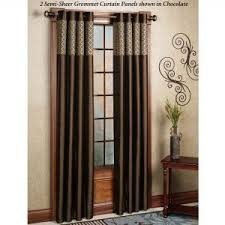 Crushed Voile Curtains Grommet by Coffee Tables Crushed Voile Curtains Grommet Drapery Rods Direct