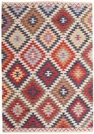 kelim usak 160x230 teppich teppich bunt teppich esszimmer