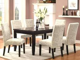 Dining Room Chairs Set Of 6 Black Fabric