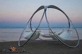 Portable Hammock Stands For A Treeless Wasteland