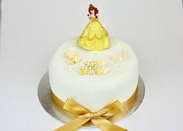 Belle Disney Princess Decoration Set GlamoRose Cakes