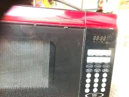 Target Emerson Microwave Counter Top Micro Wave Red Appliances In Fl 900 Watt