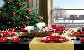 Christmas Centerpieces For Dining Room Tables by Christmas Dinner Table Room Decoration Ideas Dinner Table