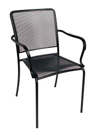 Furniture Ideas Mesh Patio Chairs With 4 Chair Legs And Black