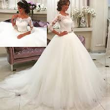 Romantic Ball Gown Vestiod De Novia 2017 Vintage Priceness Wedding