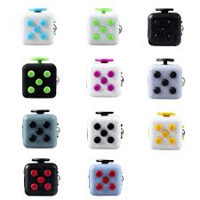 Enjoy Fidgeting With The Stylish Fidget Cube