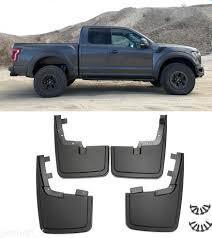 For Ford F-150 F150 Mud Flaps 2015-17 Mud Guard Splash Molded With ... Front Rear Molded Splash Guards Mud Flaps For Ford F150 2015 2017 Husky Liners Kiback Lifted Trucks 2000 Excursion Lost Photo Image Gallery 72019 F350 Gatorback Flap Set Vehicle Accsories Motune Rally Armor Blue Focus St Rs Rockstar Hitch Mounted Best Fit Truck Buy 042014 Flare Rear 21x24 Ford Logo Dually New Free Shipping 52017 Flares 4 Piece Guard For Ranger T6 Px Mk1 Mk2 2011 Duraflap Fits 4door 4wd Ute