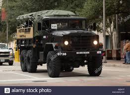 100 5 Ton Military Truck Houston Texas USA November 11 2018 The American Heroes Parade