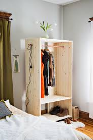 Modern Wooden Wardrobe DIY – A Beautiful Mess Best 25 Baby Armoire Ideas On Pinterest Diy Nursery Fniture Fair How To Build A Stand Alone Wardrobe Closet Roselawnlutheran A Good Way To Paint Wardrobe Armoire Youtube Vintage Used Armoires Wardrobes Chairish Closets Ikea As Well Stunning Informing How Build An For Clothes Ameriwood Storage Cabinet Decoration Wning American Girl Interesting Pax Building Create And Babble Dark Brown Finish Oak Closet In