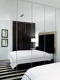 Mirror Wall Bedroom Small With Navy Blue Walls Decor For