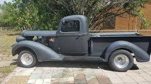 100 1937 Plymouth Truck Swayback Express PT50 Pickup