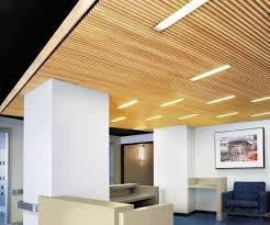 Rulon Wood Grille Ceiling by Armstrong Woodworks Ceilings Can Feature A Variety Of Different