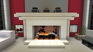 1 HOUR of Minecraft Fireplace 1080p