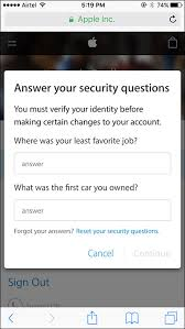 How to Change Apple ID Security Questions from iPhone iPad Mac