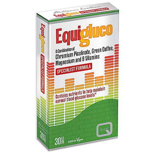 Quest Equigluco Specialist Formula Vitamins - 30 Tablets