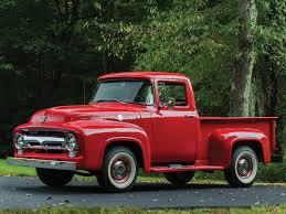100 F100 Ford Truck 1956 Pickup 1956 Ford F100 Pickup Trucks