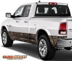 100 Wrapped Trucks CAMOWRAPS ROCKER PANEL WRAP