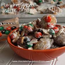 Pumpkin Spice Chex Mix With Candy Corn by Pumpkin Spiced White Trash Chocolate Chocolate And More