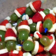 Christmas Grinch Kabobs Recipe Christmas Pinterest Christmas