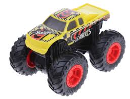 100 Hot Wheels Monster Truck Toys Monster Truck Bash Up Crash Recruit 143 Yellow
