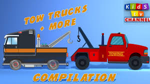 100 Tow Truck Tv Show Cartoon For Kids Childrens Songs By Kids TV Channel