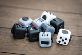 Fidget Cube A Vinyl Desk Toy With Six Faces Of Fidgeting Fun To Keep Peoples Hands Busy