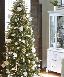 Thin Christmas Tree Fir Narrow Skinny Real