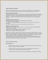 Resume Objective Examples General Labor Objectives Inspirational How Write A For