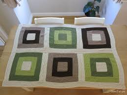 19 best Knitting Log Cabin Blankets images on Pinterest