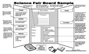 Science Board Template Fair Display Sample Tpt Project